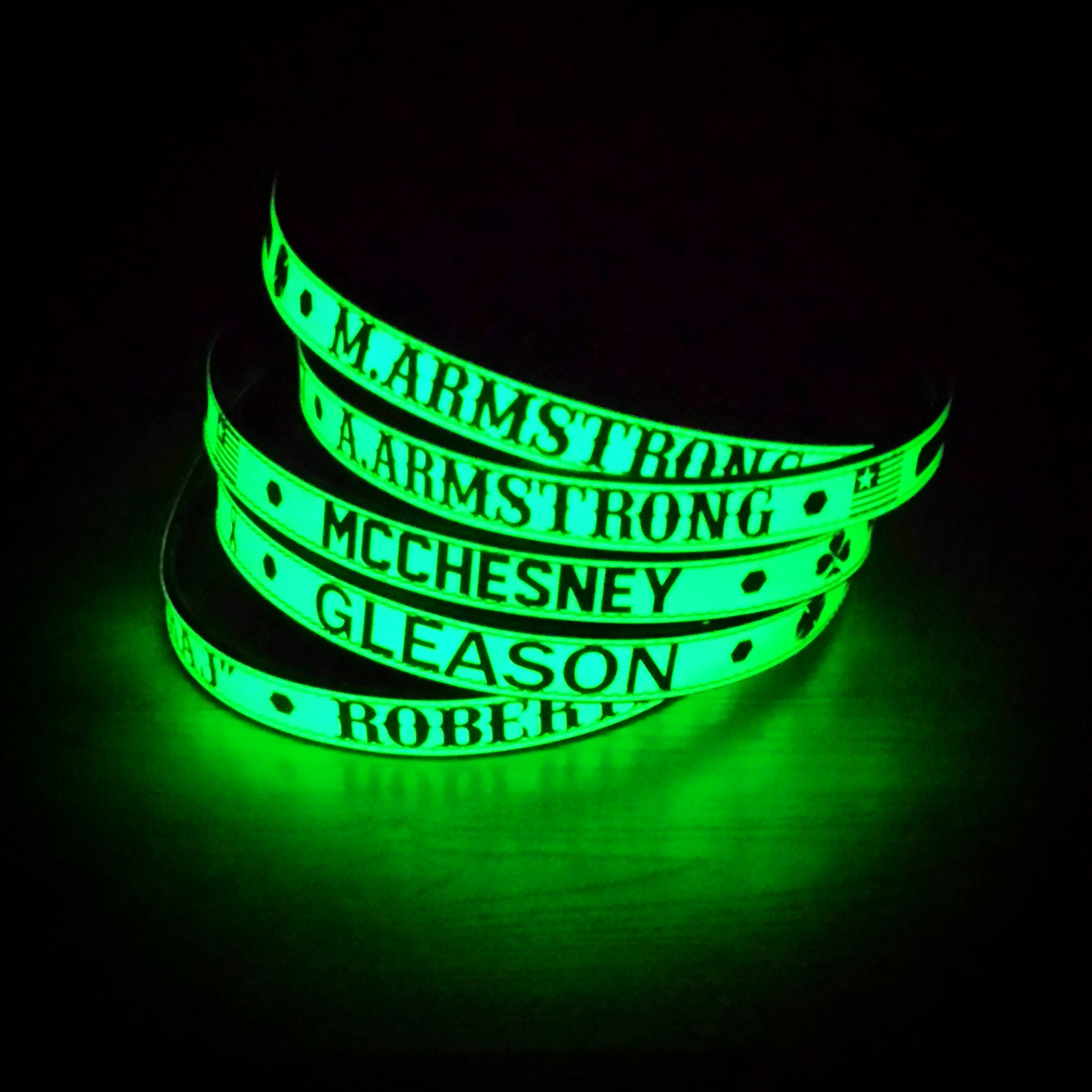 glow toy dazzling the bands itm dark arm for slap parties camp in sports bracelets